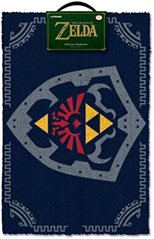 The Legend Of Zelda Hylian Shield Doormat, Multi-colour, 40 x 60cm
