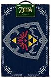"""The Legend Of Zelda - Door / Floor Mat (Size: 24"""" x 16"""") (Doormat) (Hylian Shield)"""