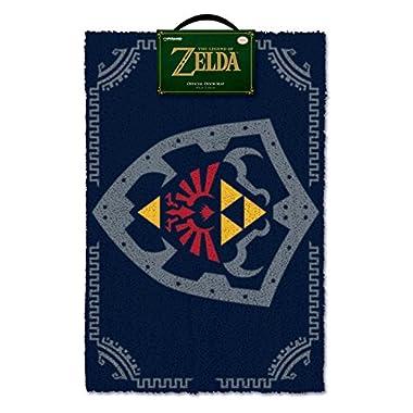The Legend Of Zelda Hylian Shield Doormat, Multi-colour, 40 x 60cm