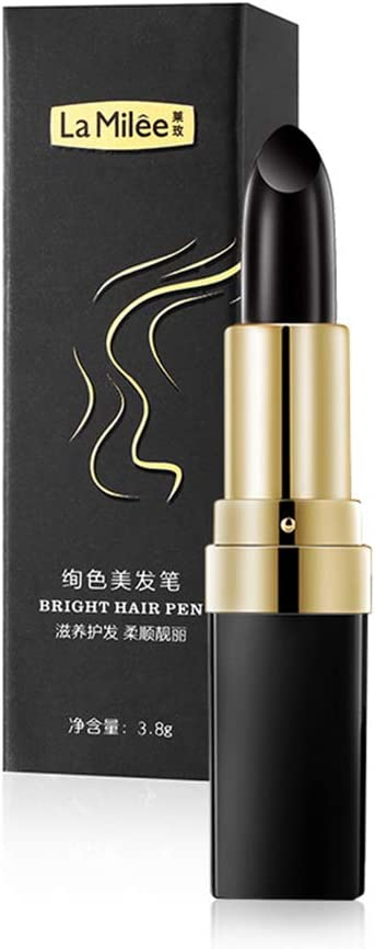 Vaugan - 1 barra de tinte de pelo desechable para colorear de larga duración, instantánea, temporal, color blanco natural