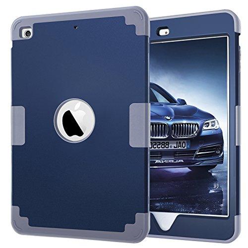 Tablet Case for Apple iPad Mini 3 2 1 (Dark Blue) - 7