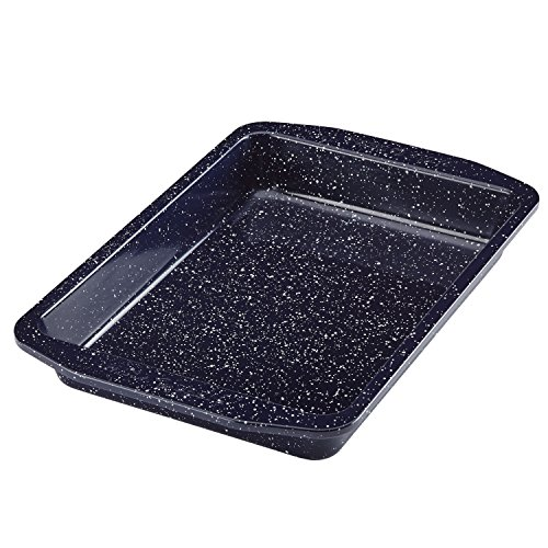 Paula Deen 46813 Nonstick Speckled Bakeware Rectangular Cake Pan, 9
