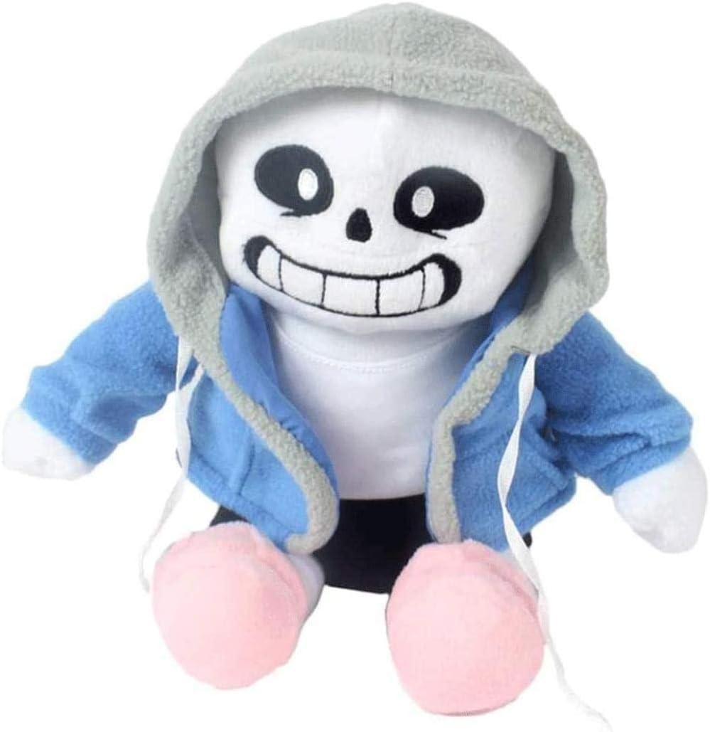 Blue sans Plush Doll Toy Cute Plush Cosplay Filling Doll Toys,Plush Doll Toy Gift for Birthday Christmas Children