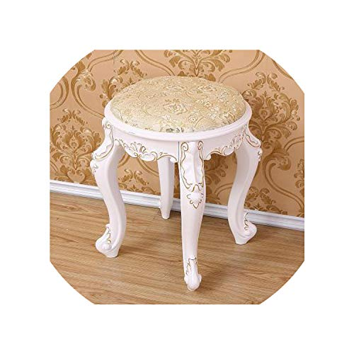 Fashion European Living Room Change Shoes Stool Dressing Stool Makeup Stool Chair Bedroom Wooden Bench,10
