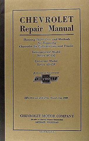 1929 1930 chevrolet repair shop manual reprint car \u0026 truck1929 1930 chevrolet repair shop manual reprint car \u0026 truck paperback \u2013 unabridged, 1930