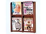 Divulge 4 Magazine Wall Display