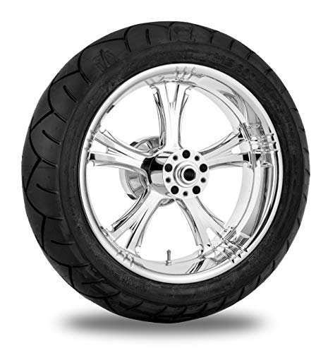 - Xtreme Machine Fierce Chrome Rear Wheel Package, 17