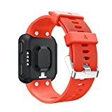 CpasA Soft Silicone Sport Band Wrist Loop Replacement Strap Bracelet Compatible Garmin Forerunner 35