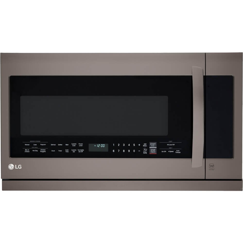 LG LMHM2237BD 2.2 cu. ft. Over-the-Range Microwave Oven with EasyClean by LG (Image #1)