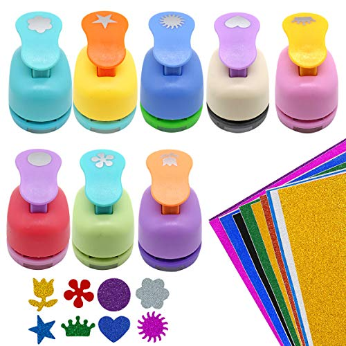 GeeVen Punchers Scrapbook Punches Sunflower product image
