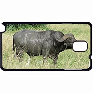 New Style Customized Back Cover Case For Samsung Galaxy Note 3 Hardshell Case, Back Cover Design African Buffalo Personalized Unique Case For Samsung Note 3
