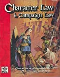 img - for Character Law and Campaign Law (Advanced Fantasy Role Playing, 2nd ed, Stock No. 1300) book / textbook / text book