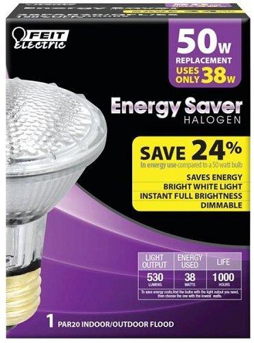 Feit Electric 38par20//Qfl//Es 38 Watt Par 20 Halogen Bulb