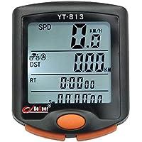 BESPORTBLE Velocímetro de Bicicleta Computador de Bicicleta Sem Fio à Prova D'água Velocímetro de Bicicleta Odômetro…
