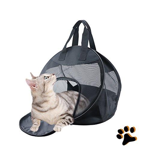 OLIISS Cat Carrier Lightweight Soft Sided Pet Travel Carrier Foldable & Portable Pet Carrier for Puppy Cat Small Medium Large Animal