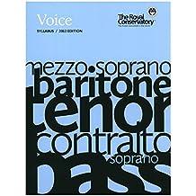 Voice Syllabus - 2012 Edition (RCM)
