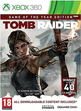 Square Enix Tomb Raider: Game of the Year Básico Xbox 360 vídeo ...