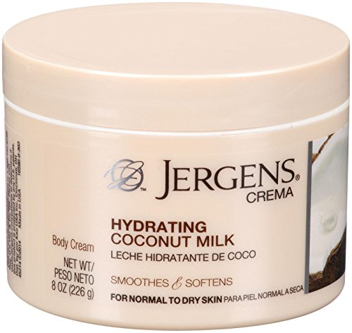 Jergens Crema Deep Hydrating Cream Coconut
