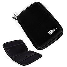 Coque étui noir rigide pour Acer Iconia Talk S (A1-724) - tablettes tactiles 7 pouces - résistant à l'eau - DURAGADGET