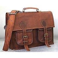 Handmadecraft Handmade Vintage Style Camera Bag/ Messenger/ Camera Briefcase/camera Messenger Bag/dslr Bag (Dark Brown)
