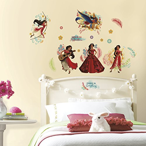 Price comparison product image RoomMates RMK3294SCS Princess Elena of Avalor Peel and Stick Wall Decals