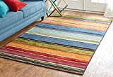Mohawk Home New Wave Rainbow Multi Rug, 2′ x 5′ Review