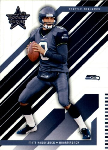 2004 Leaf Rookies and Stars Football Rookie Card #79 Matt Hasselbeck - Hasselbeck Football Matt