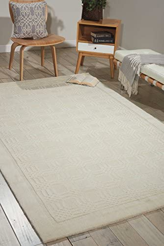 Nourison Westport Ivory Rectangle Area Rug, 8-Feet by 10-Feet 6-Inches 8 x 10 6