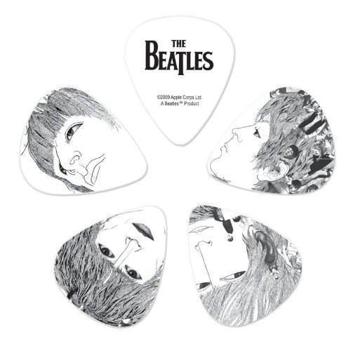 Planet Waves Beatles Guitar Picks, Revolver, 10 Pack, Light Gauge ()