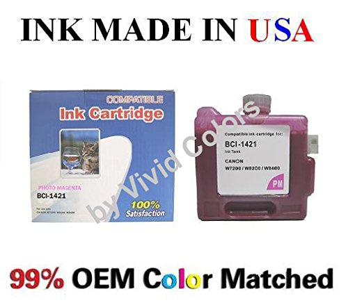 Compatible Canon BCI-1421 PM Ink Tank Canon BCI1421 Photo Magenta Ink Tank