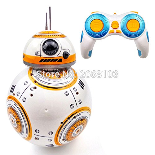 Toy  Play  Game  Upgrade Model Ball Star Wars Rc Bb 8 Droid Robot Bb8 Intelligent Robot 2 4G Remote Control Toys For Girl Gifts With Sound Action  Kids  Children