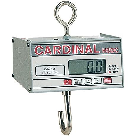 Detecto HSDC 20KG Digital Hanging Scale 20 Kg Capacity