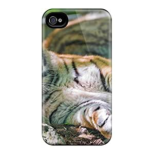Excellent Design Young Female Tiger Phone Cases For Case Samsung Galaxy Note 2 N7100 Cover Premium Cases