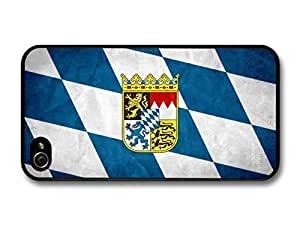 AMAF ? Accessories Bavarian Flag Germany Bavaria Flagge Bayern case for iPhone 4 4S by icecream design
