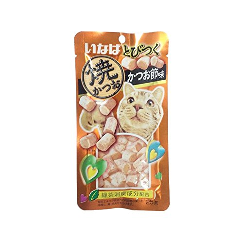 INABA Tuna and chicken tenderloin, dried fish Flavor (25 g. X 3 pack)