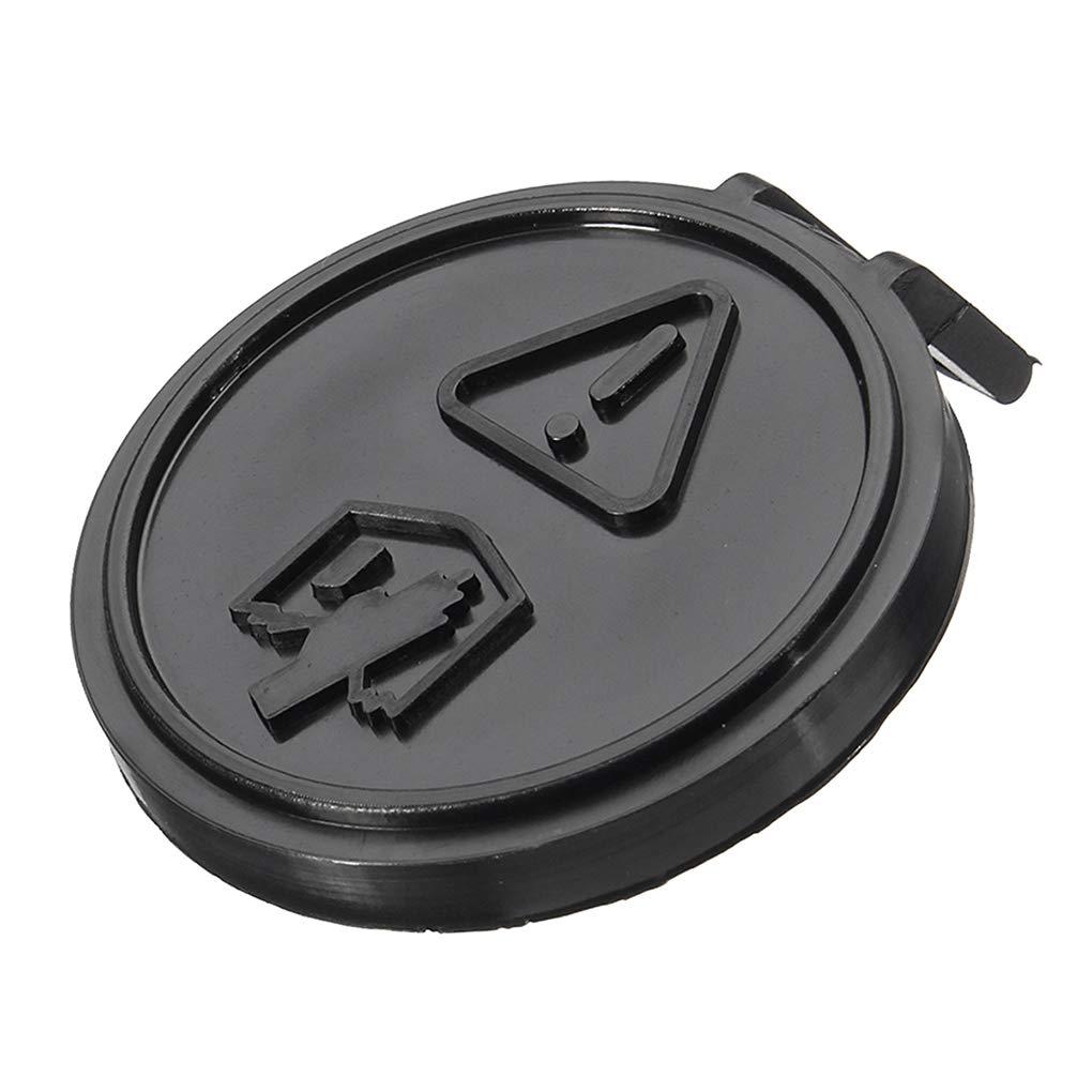 Morza Expansió n del radiador Botella Tanque de Agua Cubierta Protectora Cap Compatible para BMW Mini Cooper UNO 01-06 Gasolina
