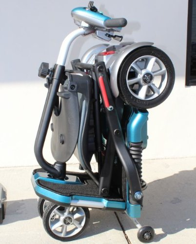 EV Rider Transport Folding Travel Electric Mobility Scooter SLA Batteries