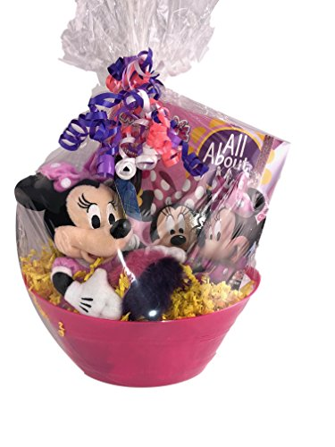 - Minnie Mouse Themed Gift Basket for Birthdays, Get Well, Good Job Surprise Plush Keychain Book