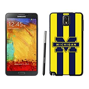 Fashion And Unique Samsung Galaxy Note 3 Cover Case Ncaa Big Ten Conference Football Michigan Wolverines 2 Protective Cell Phone Hardshell Cover Case For Samsung Galaxy Note 3 N900A N900V N900P N900T Black Phone Case