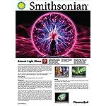 Smithsonian 5″ Battery Operated Plasma Ball, Black