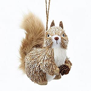 Amazon.com: Kurt Adler Squirrel Christmas Ornament: Home & Kitchen