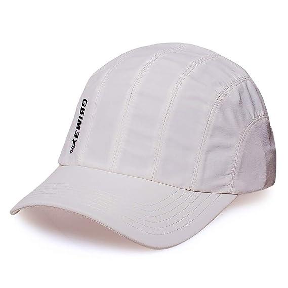 GRIMEY Gorra Hazy Sun 8 Pannels FW18 White-Strapback: Amazon.es ...