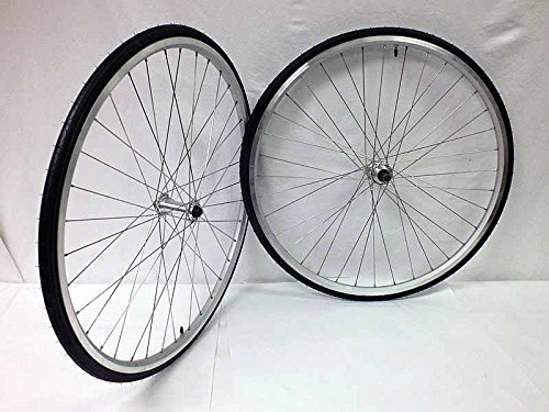 700c Aluminum Alloy Road Wheels For Thread On Freewheel Multi Speed with Kenda Tires