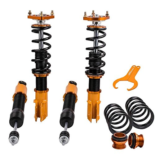 Performance Coilovers w/Camber Plates for Ford Mustang 4th Gen. 1994-2004 Spring Shock Strut Adj. Damper & Height