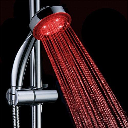 single color led shower head - 9