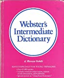 Merriam-Webster's Intermediate Dictionary, Merriam-Webster, 0877793794