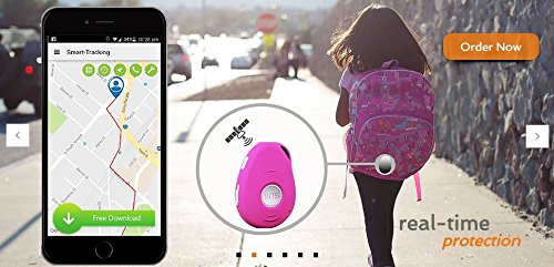 3G VisionOne GPS Tracker / Personal Alarm & Charging Dock Bundle -SOS Alarm, 2-way Talk, Fall Detection, Spy Mode, Geo-fence, Speed Alert, Real-time GPS Tracking Device, Kids, Elderly, Personal, Drone by VisionOneGPS (Image #2)