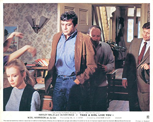 Take A Girl Like You Original Lobby Card Front of House Hayley Mills Oliver Reed ()