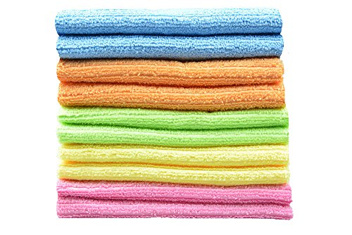 Household tools Multi-purpose Cleaning Cloths Microfiber Kitchen Cloth With Stripe 12