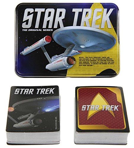 Star Trek The Original Series _ 2 Unique Decks of Playing Cards _ With 4 Bonus (D6) White Dice color dots